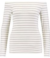 Tart Eira Off-The-Shoulder Striped Jersey Top