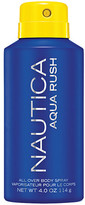 Nautica Aqua Rush Men's All Over Body Spray