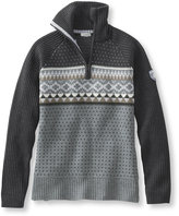 L.L. Bean Snowcap Ski Sweater