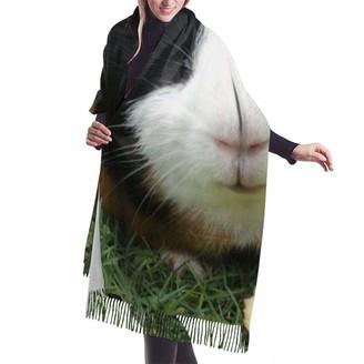 Rcivdkem Cute Guinea Pig Pashminas Wraps Shawl Soft Warm Winter Cashmere Feel Women Scarf Cashmere Wrap