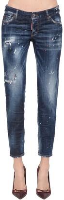 DSQUARED2 Jennifer Cotton Blend Denim Jeans