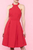 Keepsake Red City Heat Dress