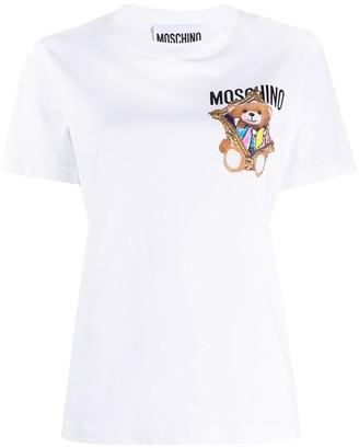 Moschino Teddy Bear frame print T-shirt