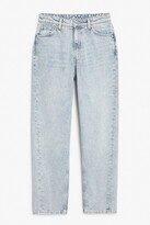 Thumbnail for your product : Monki Kyo worn blue jeans