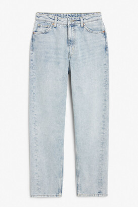 Monki Kyo worn blue jeans
