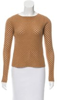 The Row Open-Knit Cashmere Sweater