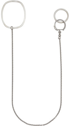 Maison Margiela Silver Rings Keychain