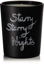 Bella Freud Starry Starry Nights Scented Candle, 190g - Black