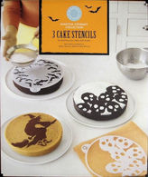 Martha Stewart Halloween Assorted Cake 9 Stencil Designs From 5415