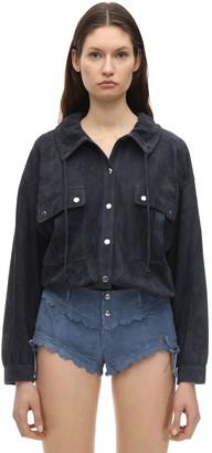 Isabel Marant Alambari Suede Shirt