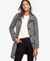 Ann Taylor Mod Tweed Coat