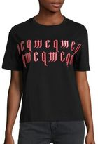 McQ by Alexander McQueen Gothic Print Tee
