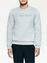 Calvin Klein Platinum Double Faced Logo Sweatshirt