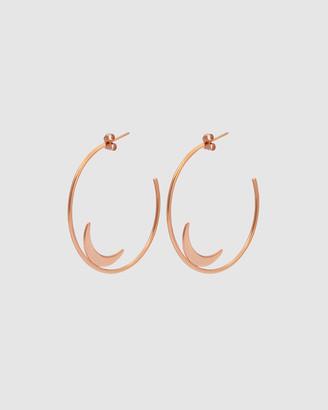 Pastiche Summer Moon Earrings