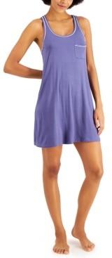 Alfani Racerback Ultra-Soft Nightgown, Created for Macy's