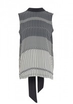 Amanda Wakeley Tokyo Printed Sleeveless Top