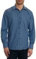 Robert Graham Hill Punch Classic Fit Print Sport Shirt