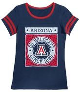 NCAA Arizona Wildcats Girls Foil T-Shirt
