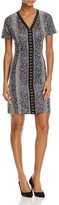 T Tahari Sofia Animal Print Dress