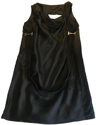 Rick Owens Black Viscose Dresses