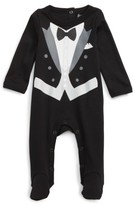 Infant Boy's Sara Kety Baby & Kids Tux Footie
