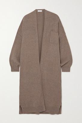 Extreme Cashmere Koto Embellished Cashmere-blend Cardigan - Brown
