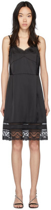 Marc Jacobs Black The Liz Slip Dress