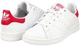 adidas Stan Smith Unisex Kids' Trainers Blanc (White/White/Bold Pink) 3.5 UK