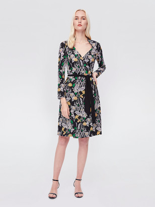 Diane von Furstenberg Tiffany Silk-Jersey Wrap Dress