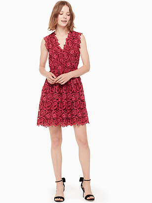 Kate Spade Bicolor Lace Dress