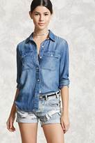 Forever 21 Denim Button-Down Shirt