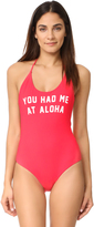Spiritual Gangster You had Me at Aloha Retreat One Piece