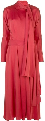 Sies Marjan Bea crepe dress