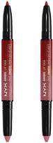 NYX Razzle & Dazzle Ombré Lipstick Duo - Set of Two