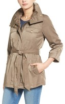 Ellen Tracy Women's Zip Utility Trench Coat