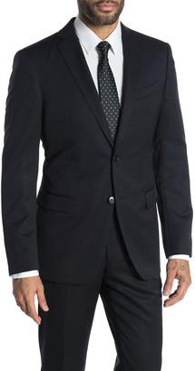 John Varvatos Bedford Black Two Button Notch Lapel Suit Separates Jacket