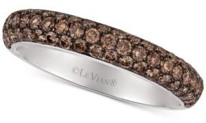 LeVian Le Vian Chocolatier Diamond Pave Band (9/10 ct. t.w.) in 18k White Gold