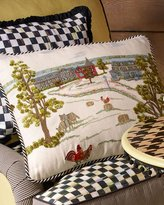 Mackenzie Childs MacKenzie-Childs MacKenzie-Childs Farm Pillow
