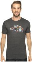 The North Face Short Sleeve Tri-Blend Tee ) Men's T Shirt
