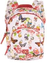 Dolce & Gabbana Padlock Print Backpack