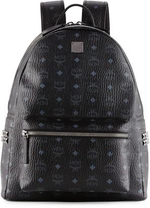 MCM Men's Stark Side Stud Medium Backpack