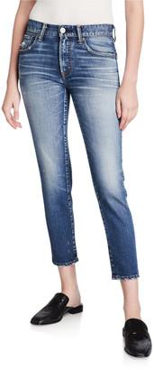 Moussy Sundance Dark-Wash Skinny Jeans