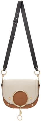 See by Chloe Brown and Taupe Mara Crossbody Bag