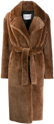 Common Leisure Belted Longline Coat