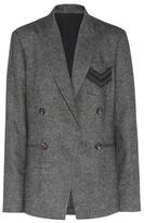 Brunello Cucinelli Veste en tweed à o