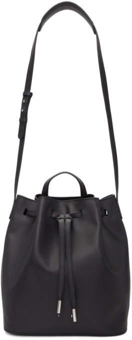 Pb 0110 Black Large AB 16 Bucket Bag