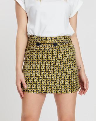 People Tree VA Cosmic Print Skirt