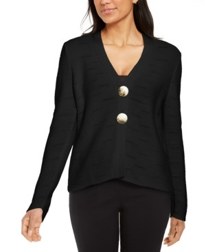 JM Collection Two-Button Cardigan Sweater, Created for Macy's