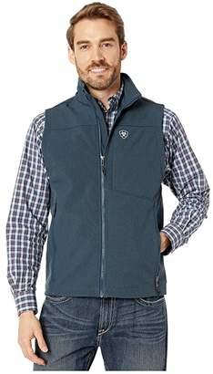 Ariat Logo 2.0 Softshell Vest (Indigo Americana) Men's Clothing