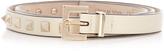 Valentino Rockstud skinny-leather belt